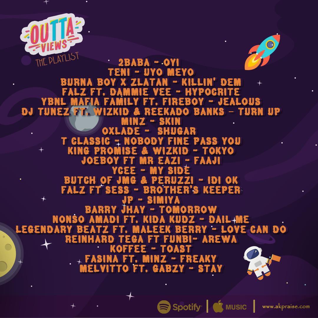 """Outta Views """"The Playlist"""" (Download) - AkPraiseAkPraise"""