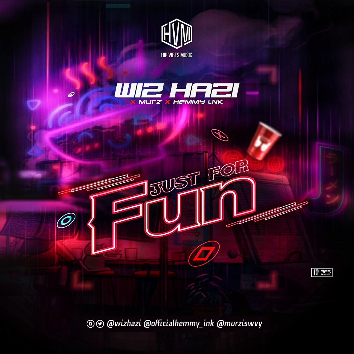 MUSIC: Wiz Hazi x Murz x Hemmy Ink – Just For Fun